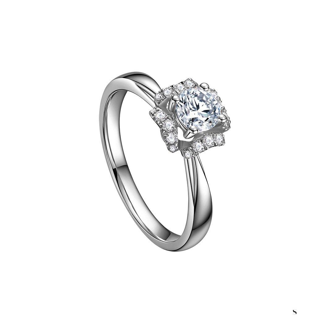 60分的铂金钻石戒指回收