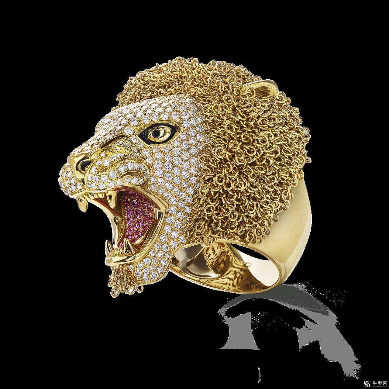 香奈儿狮子钻石回收