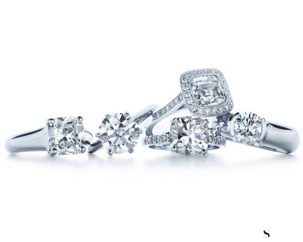 50分的钻石戒指回收