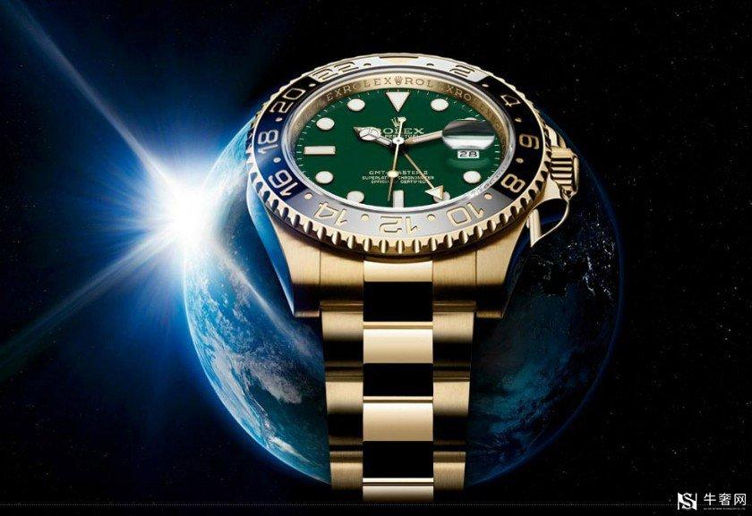 二手绿玻璃劳力士手表的回收