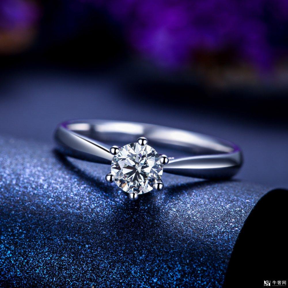 回收一枚60分钻石戒指