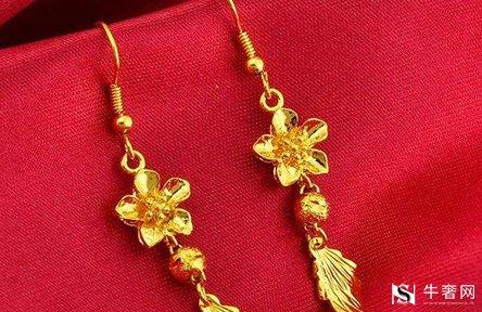 黄金耳饰变形弯曲可以回收吗