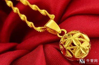 目前黄金项链回收一克多少钱