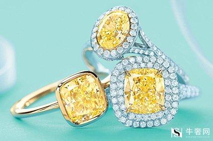 钻石回收蒂芙尼黄钻价格高不高