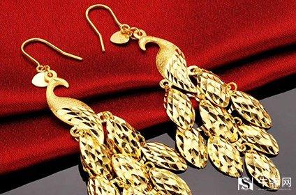 黄金回收黄金耳饰怎么戴好看