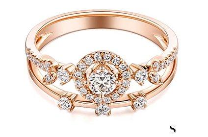 蒂芙尼玫瑰金戒指多少钱回收