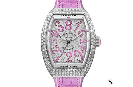 法穆兰Vanguard女士手表回收行情怎么样