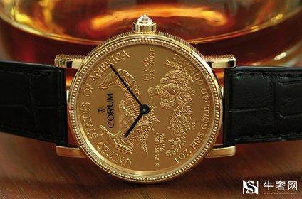 昆仑金币手表回收一般多少钱