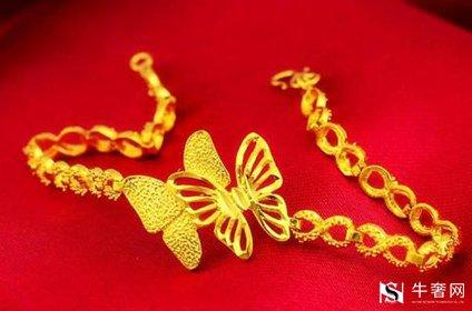 戴旧的黄金首饰回收大概是多少钱一克