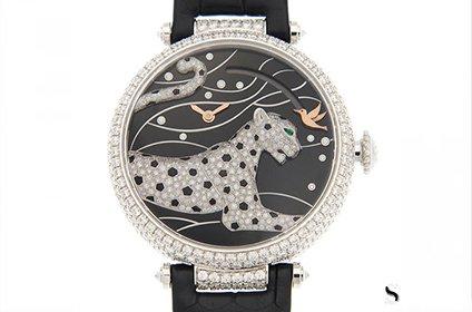 卡地亚猎豹造型腕表二手手表回收价格多少