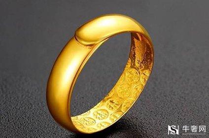 黄金回收黄金男士戒指多少克