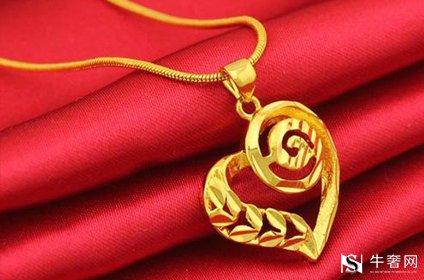 黄金项链首饰回收行情好