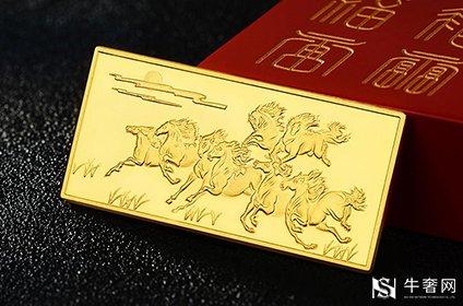 中国黄金的投资金条今日回购价有多少