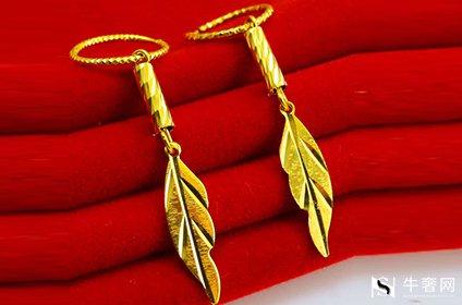 变形弯曲的黄金耳饰能回收吗
