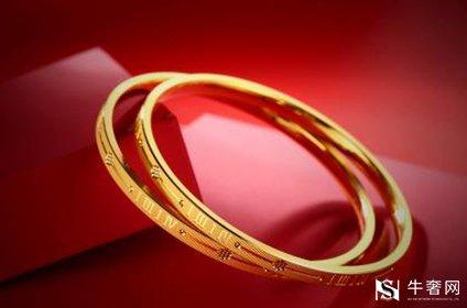 回收黄金古法金手镯成光面能回收吗
