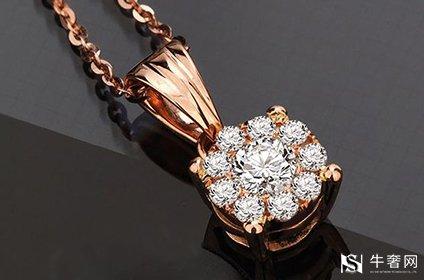 老凤祥18k金钻石项链回收价格高吗
