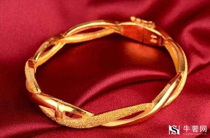 北京哪里高价回收黄金古法金手镯