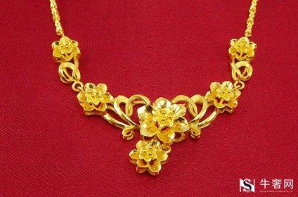 黄金回收千足金饰品一克多少钱