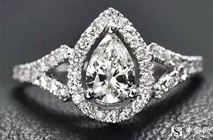 梨形钻石戒指去哪里回收价格高
