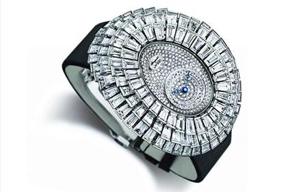 宝玑Crazy Flower钻石手表回收几折