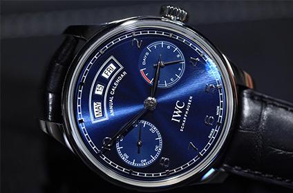 万国葡萄牙手表蓝色表盘哪款好看