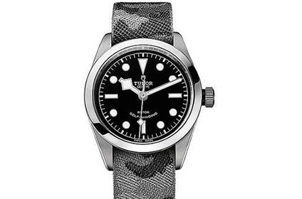 迷彩表带帝舵手表回收价格能有几折