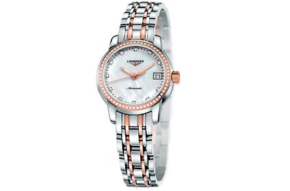 浪琴索伊米亚玫瑰金手表回收价是多少