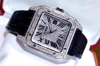 卡地亚桑托斯手表回收多少钱品牌占优势吗